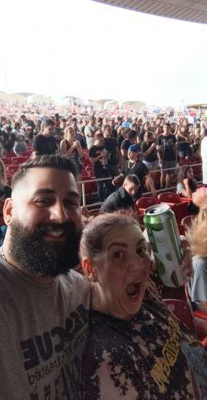 Carolyn attended 95. 9 Wratfest / 105. 5 Wdha Presents: Breaking Benjamin - Alternative Rock on Jul 31st 2019 via VetTix