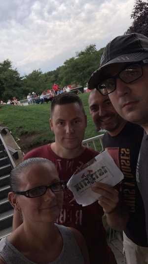 Kevin attended 95. 9 Wratfest / 105. 5 Wdha Presents: Breaking Benjamin - Alternative Rock on Jul 31st 2019 via VetTix