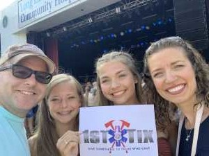Anthony attended Brett Eldredge - Country on Jul 27th 2019 via VetTix