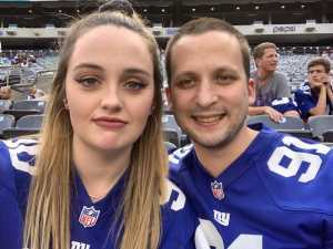 Web attended New York Giants vs. New York Jets - NFL Preseason on Aug 8th 2019 via VetTix