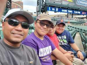 Eric attended Detroit Tigers vs. Seattle Mariners - MLB on Aug 13th 2019 via VetTix