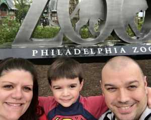 Ed attended Philadelphia Zoo - * See Notes on Aug 16th 2019 via VetTix