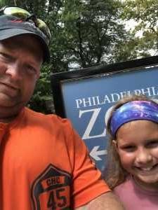 Ken attended Philadelphia Zoo - * See Notes on Aug 16th 2019 via VetTix