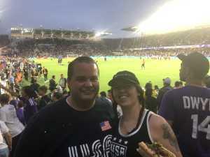 Mark attended MLS All Stars V Atletico Madrid - MLS on Jul 31st 2019 via VetTix