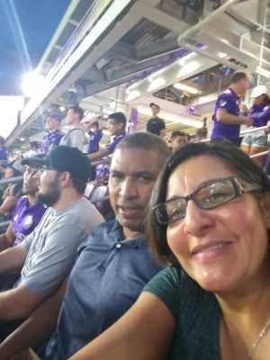 LISA attended MLS All Stars V Atletico Madrid - MLS on Jul 31st 2019 via VetTix