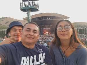 David  attended Rascal Flatts: Summer Playlist Tour 2019 - Country on Aug 2nd 2019 via VetTix