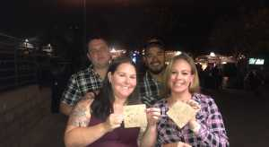 Stacey attended Rascal Flatts: Summer Playlist Tour 2019 - Country on Aug 2nd 2019 via VetTix