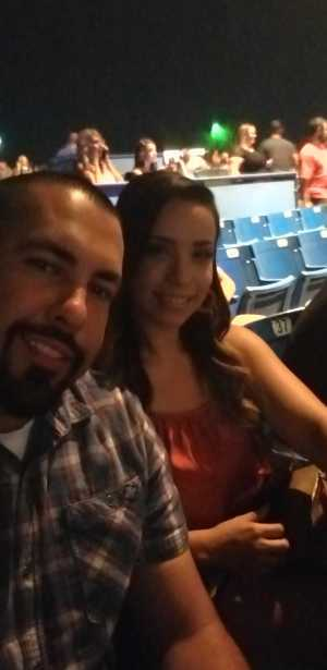 JORGE attended Chris Young: Raised on Country Tour - Country on Aug 16th 2019 via VetTix
