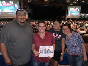 Michael attended Chris Young: Raised on Country Tour - Country on Aug 16th 2019 via VetTix