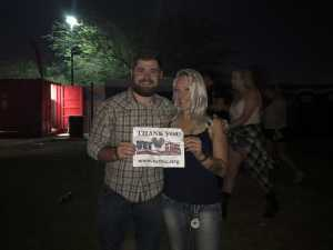 Sommer attended Chris Young: Raised on Country Tour - Country on Aug 16th 2019 via VetTix