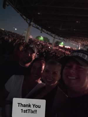 Johnny attended Chris Young: Raised on Country Tour - Country on Aug 16th 2019 via VetTix