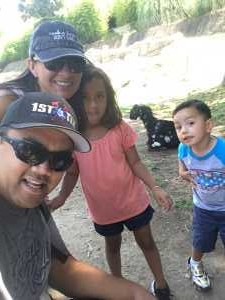 Kama attended Oakland Zoo - Guest Pass *valid Through July 31st 2020 on Aug 15th 2019 via VetTix