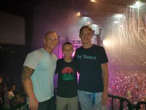 Mark attended Blink-182 & Lil Wayne - Pop on Aug 8th 2019 via VetTix