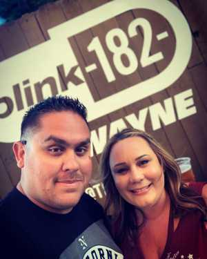 David attended Blink-182 & Lil Wayne - Pop on Aug 8th 2019 via VetTix