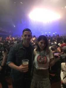 Keith attended Blink-182 & Lil Wayne - Pop on Aug 8th 2019 via VetTix