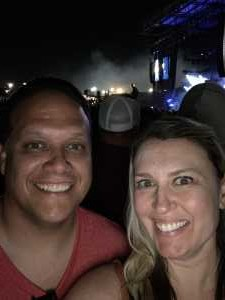 Kieran attended Blink-182 & Lil Wayne on Aug 27th 2019 via VetTix