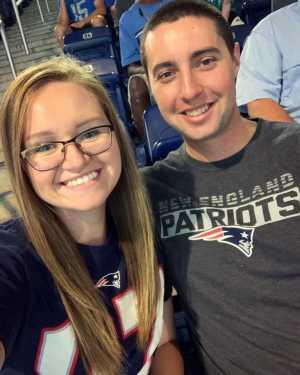Devin attended Detroit Lions vs. New England Patriots - NFL Preseason on Aug 8th 2019 via VetTix