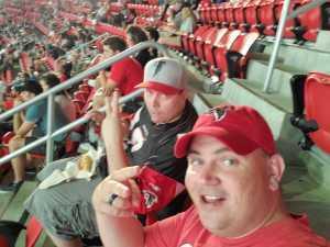 Seth attended Atlanta Falcons vs. New York Jets - NFL Preseason on Aug 15th 2019 via VetTix