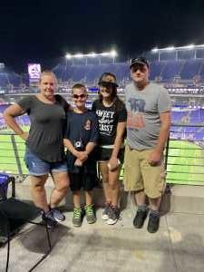 Tamara attended Baltimore Ravens vs. Jacksonville Jaguars - NFL on Aug 8th 2019 via VetTix