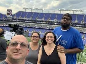 Robert attended Baltimore Ravens vs. Jacksonville Jaguars - NFL on Aug 8th 2019 via VetTix