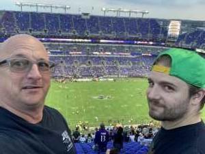 Robert attended Baltimore Ravens vs. Green Bay Packers - NFL on Aug 15th 2019 via VetTix