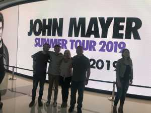 Eric attended John Mayer - Pop on Aug 6th 2019 via VetTix