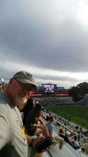 Eddie attended Georgia Tech vs. North Carolina - NCAA Football on Oct 5th 2019 via VetTix