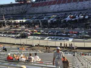 Craig attended Food City 300 Xfinity Series and Qualifying on Aug 16th 2019 via VetTix