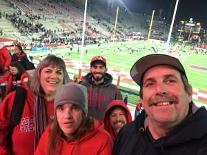 Justin attended Fresno State Bulldogs vs. Nevada - NCAA Football on Nov 23rd 2019 via VetTix