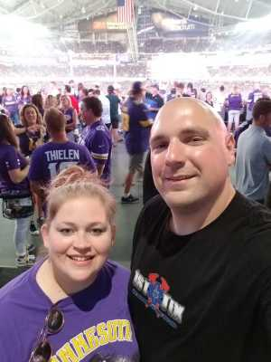 Bryan attended Minnesota Vikings vs. Seattle Seahawks - NFL Preseason on Aug 18th 2019 via VetTix