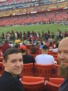 Michael attended Washington Redskins vs. Cincinnati Bengals - NFL on Aug 15th 2019 via VetTix