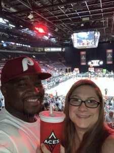 Chris attended Las Vegas Aces vs. Chicago Sky - WNBA on Aug 9th 2019 via VetTix