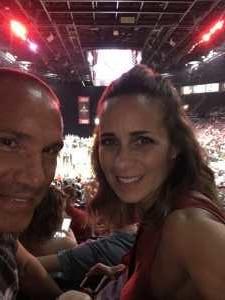 Larry attended Las Vegas Aces vs. Connecticut Sun - WNBA on Aug 11th 2019 via VetTix
