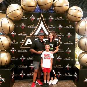 Anthony attended Las Vegas Aces vs. Connecticut Sun - WNBA on Aug 11th 2019 via VetTix