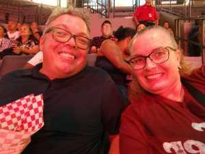 Christina attended Las Vegas Aces vs. Atlanta Dream - WNBA on Aug 13th 2019 via VetTix