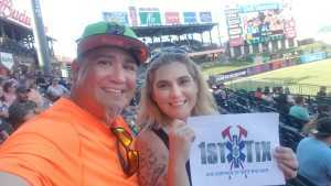 Christina attended Round Rock Express vs Oklahoma City Dodgers - MiLB on Aug 18th 2019 via VetTix