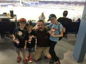 Anthony attended Miami Marlins vs. Los Angeles Dodgers - MLB on Aug 14th 2019 via VetTix