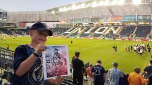 Andrew attended Philadelphia Union vs Houston Dynamo - MLS *** Military Appreciation Match *** on Aug 11th 2019 via VetTix