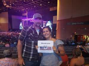 Justin attended Dierks Bentley: Burning Man 2019 - Country on Aug 15th 2019 via VetTix