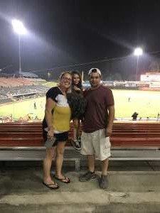 Hector attended Bowie Baysox vs. Richmond Flying Squirrels - MiLB on Aug 13th 2019 via VetTix