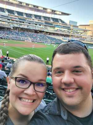 Samuel attended Minnesota Twins vs. Washington Nationals - MLB on Sep 10th 2019 via VetTix