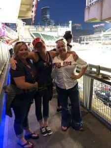 Lindsay attended Minnesota Twins vs. Washington Nationals - MLB on Sep 10th 2019 via VetTix