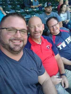 Aaron attended Minnesota Twins vs. Washington Nationals - MLB on Sep 10th 2019 via VetTix