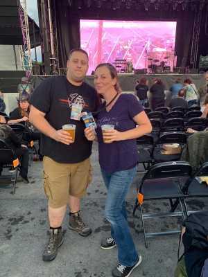 Adam attended Tim McGraw on Aug 14th 2019 via VetTix