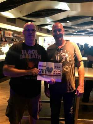 William attended Kiss: End of the Road World Tour - Pop on Aug 14th 2019 via VetTix