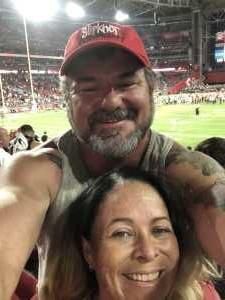 Timothy attended Arizona Cardinals vs. Oakland Raiders - NFL Preseason on Aug 15th 2019 via VetTix