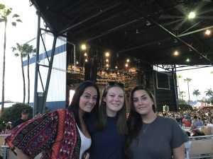 Meagan attended Brad Paisley Tour 2019 - Country on Aug 17th 2019 via VetTix