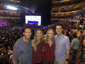 Taylor attended An Evening With John Mayer - Pop on Aug 15th 2019 via VetTix