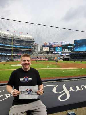 Web attended New York Yankees vs. Baltimore Orioles - MLB - Premium Seating on Aug 13th 2019 via VetTix
