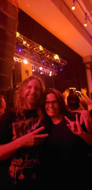 Dawn attended Great White & Slaughter on Sep 6th 2019 via VetTix